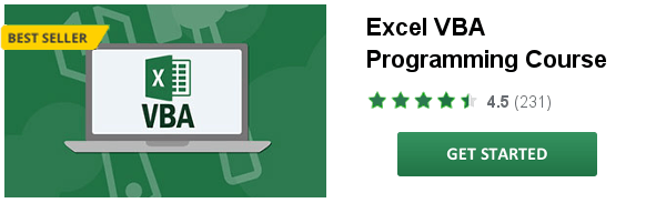 Excel Visual Basic Online Course for Health Economists