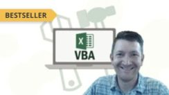 Master Microsoft Excel Macros and Excel VBA online course